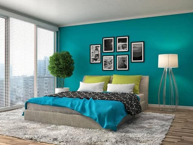 الوان حوائط غرف نوم
