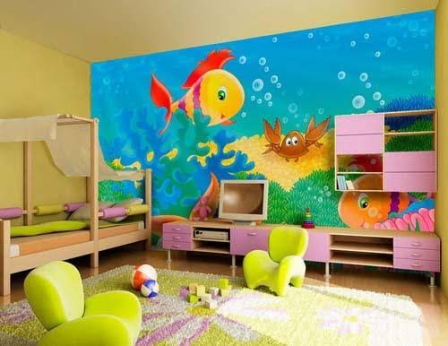 دهانات غرف اطفال وافضل دهانات غرف اطفال حديثة 2022